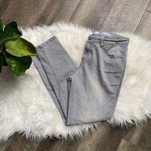 Kensie Effortless Ankle Grey Skinny Jeans